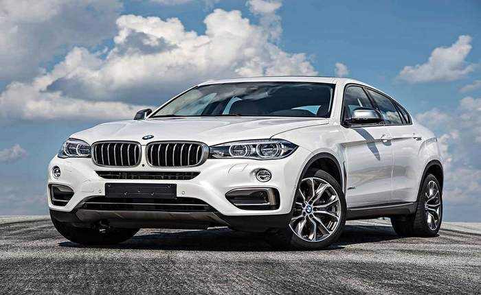 Bmw X6 Front Side Profile