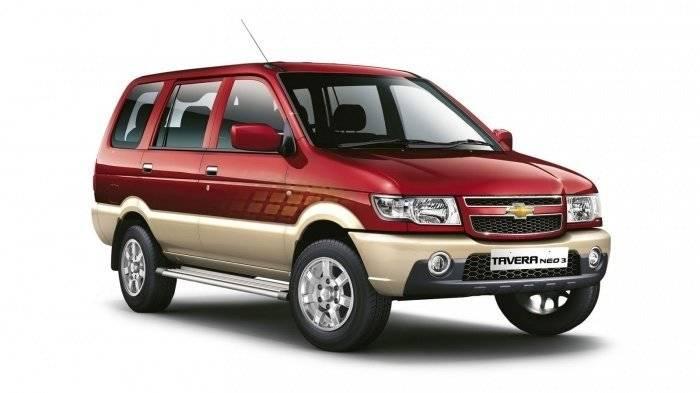Chevrolet Tavera Front Side Profile