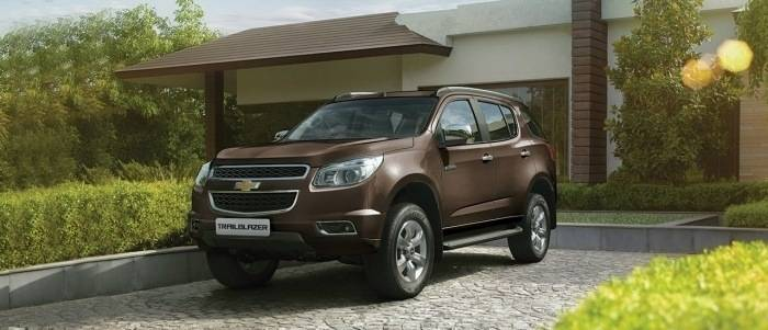 Chevrolet Trailblazer Price in India (GST Rates), Images ...