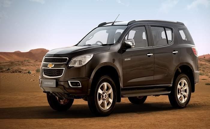 Chevrolet Trailblazer Price in India (GST Rates), Images ...
