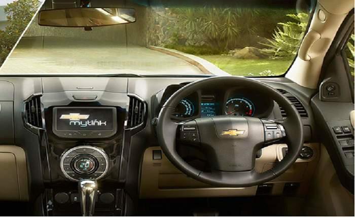 Chevrolet Trailblazer Price in India, Images, Mileage ...