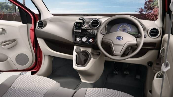 datsun go plus style price features car specifications. Black Bedroom Furniture Sets. Home Design Ideas