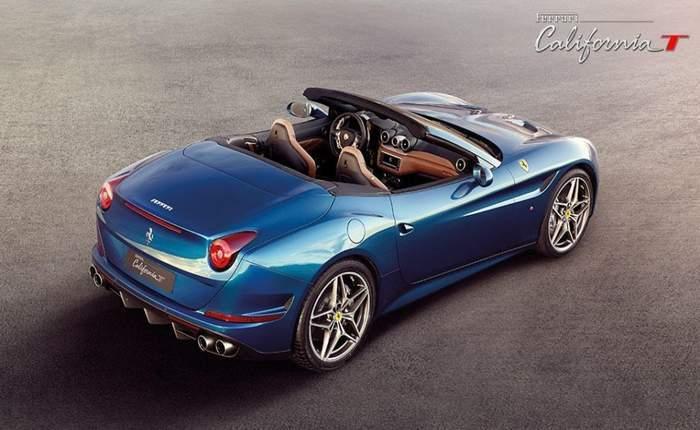 Ferrari California T Rear Look