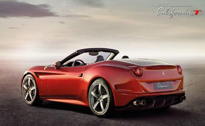 Ferrari California T Rear Side Look