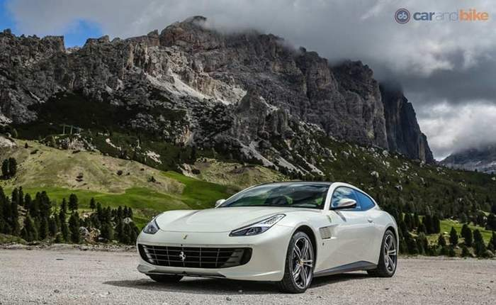 Ferrari Gtc4lusso Front Profile