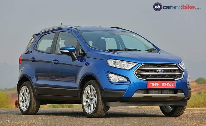 Ford Ecosport Front Side View