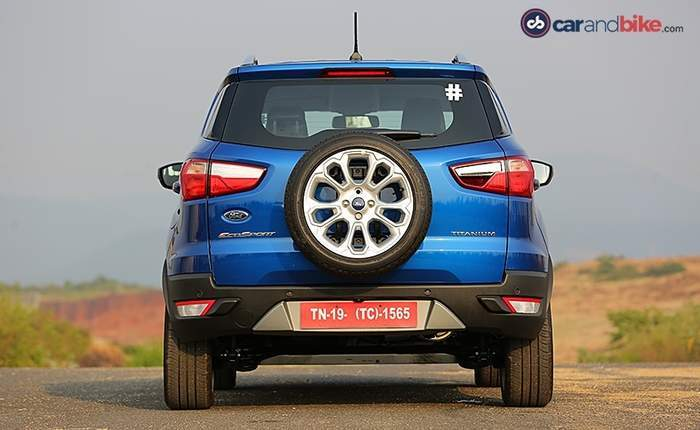 Ford Ecosport Rear View