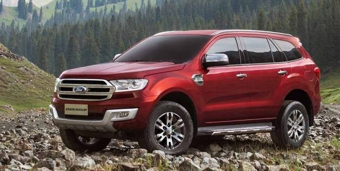 Ford Endeavour India Price Review Images Ford Cars