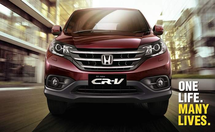 Honda Cr V Front Profile
