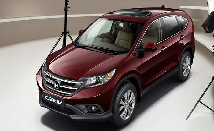 Honda Cr V Side Profile