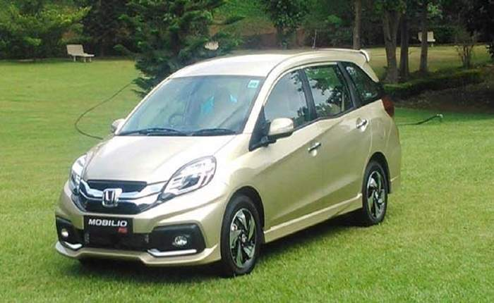 Honda Mobilio Rs O Diesel Price Features Car Specifications