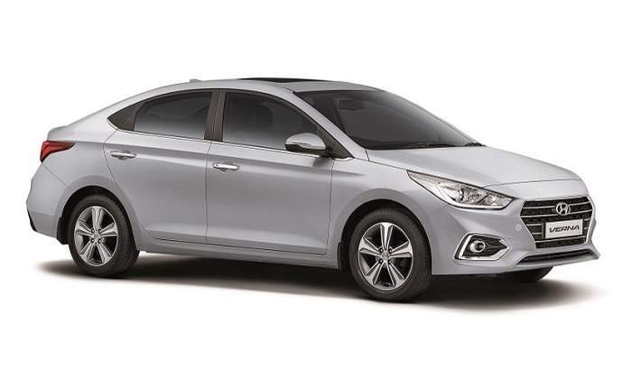 Hyundai Verna Front Side Profile