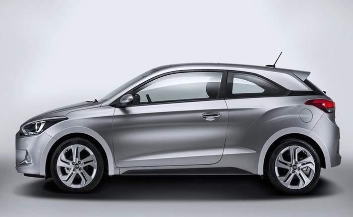 Hyundai I20 Sport Side Profile