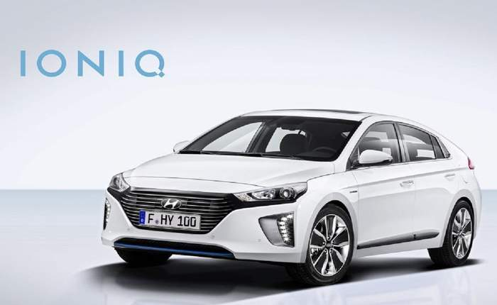 Hyundai ioniq hybrid prijs