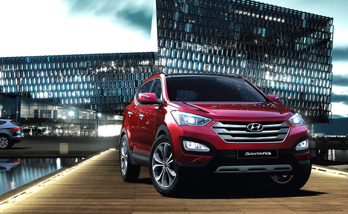 hyundai santa fe price in india, images, mileage, features, reviews