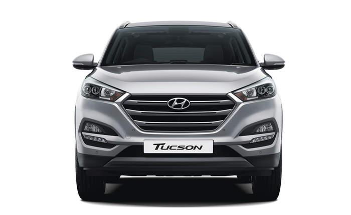 Hyundai Tucson Front Profile