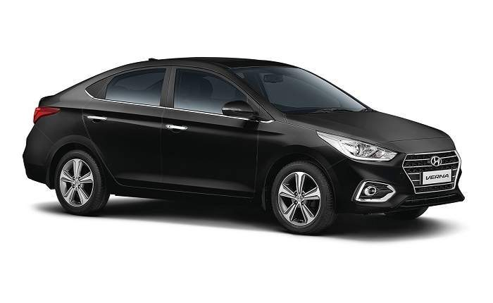 Hyundai Verna Side Look