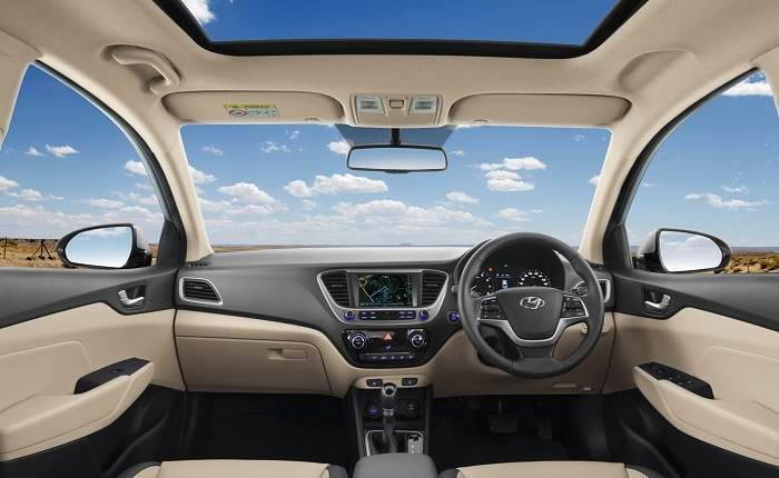 New hyundai verna price in india gst rates images for Interior decoration gst rate