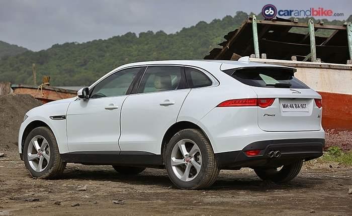Jaguar F Pace Rear View