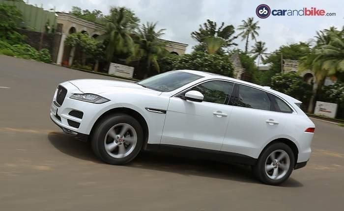 Jaguar F Pace Side Veiw