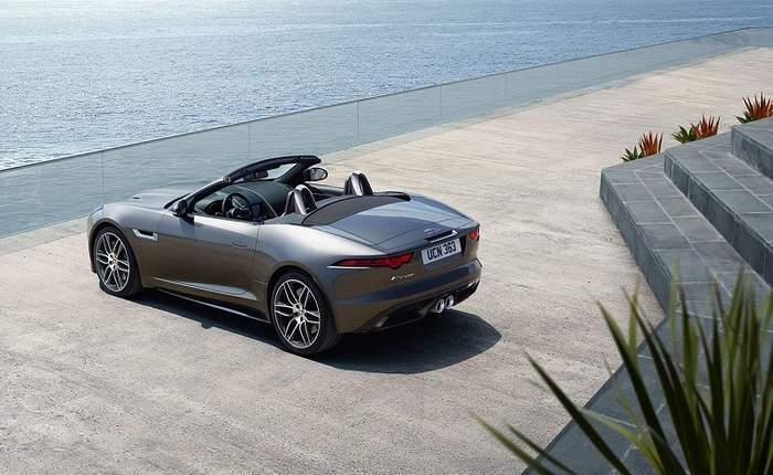 Jaguar F Type Convertible >> Jaguar F Type 2 0 L Convertible
