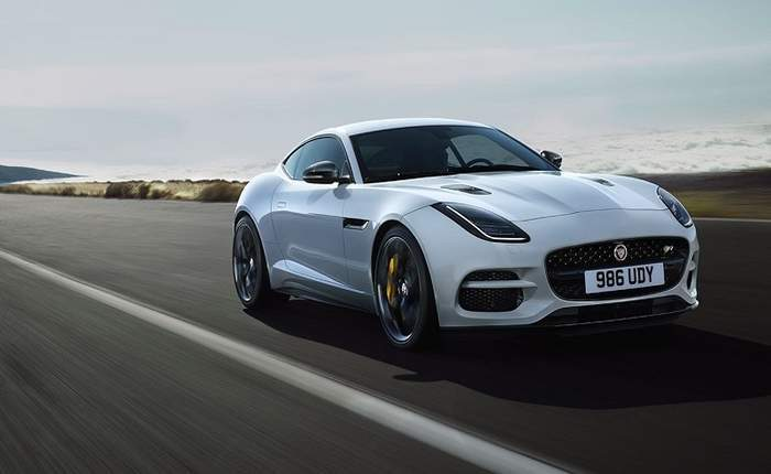 Jaguar F Type Coupe Front Profile