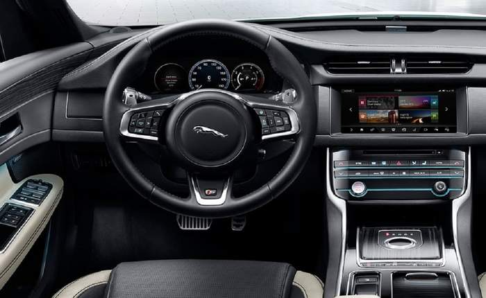 Jaguar Xf Dashboard Amazing Design