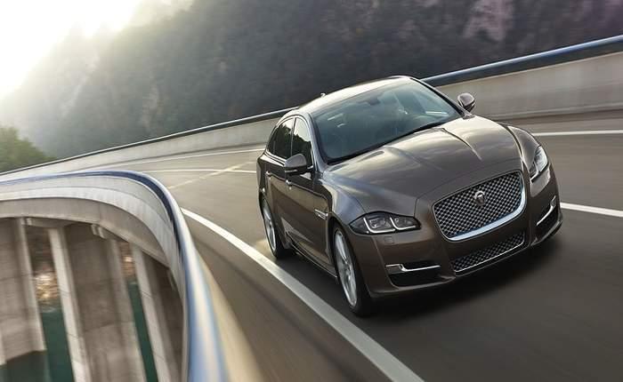 Jaguar Xj Front Profile