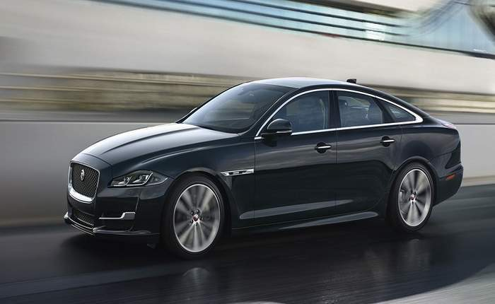 Jaguar xj price in ahmedabad get on road price of jaguar xj for Jaguar xj exterior