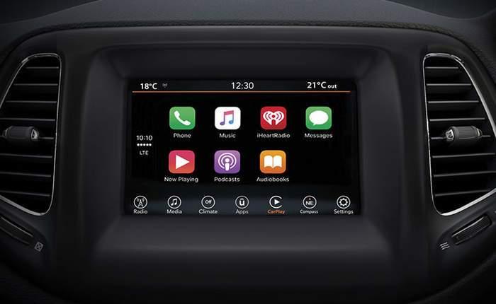 jeep compass infotament system