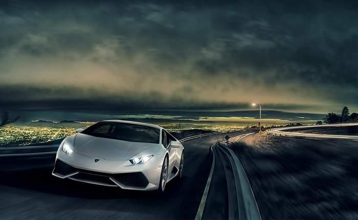 Lamborghini Huracan Coupe Front Profile
