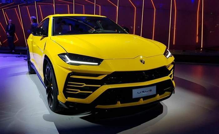 Lamborghini Urus Price in Mumbai