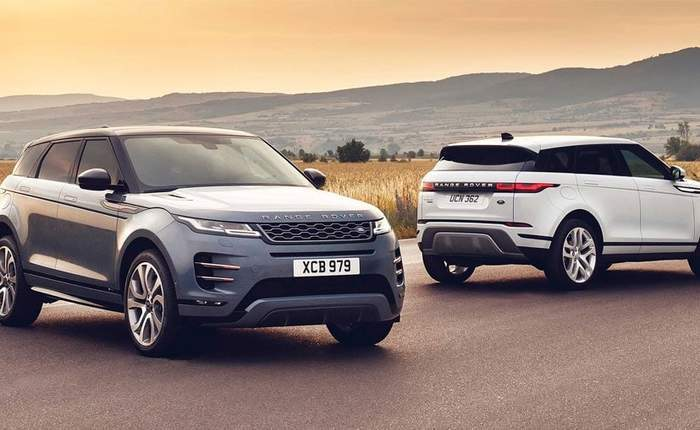 New Land Rover Range Rover Evoque 2019 Price in India