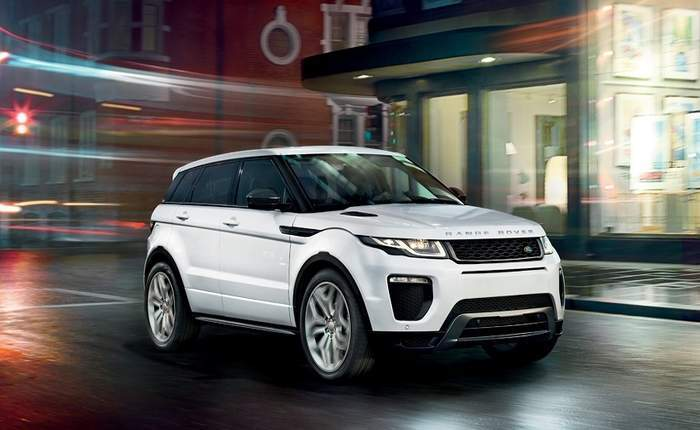 range rover evoque front 3 4th view