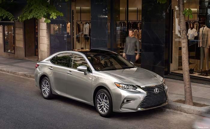 Lexus Es Front Profile Side