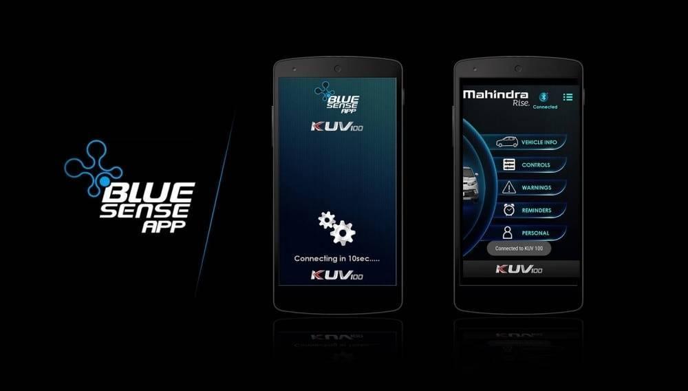 Mahindra Blue Sense App