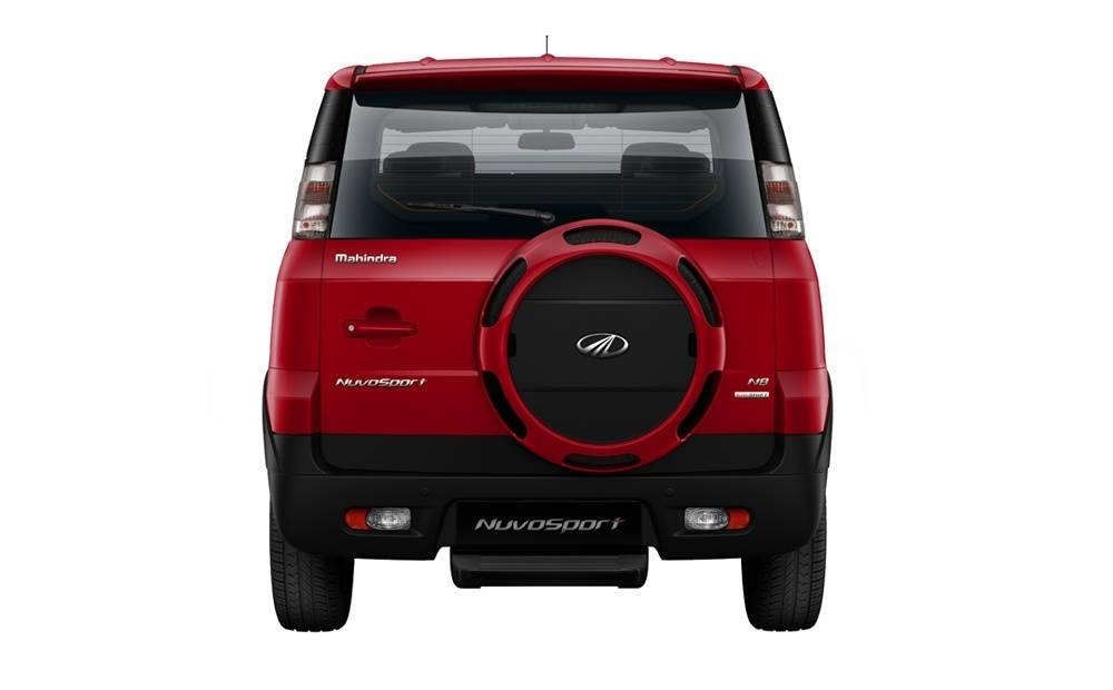 Mahindra Nuvosport Back Side