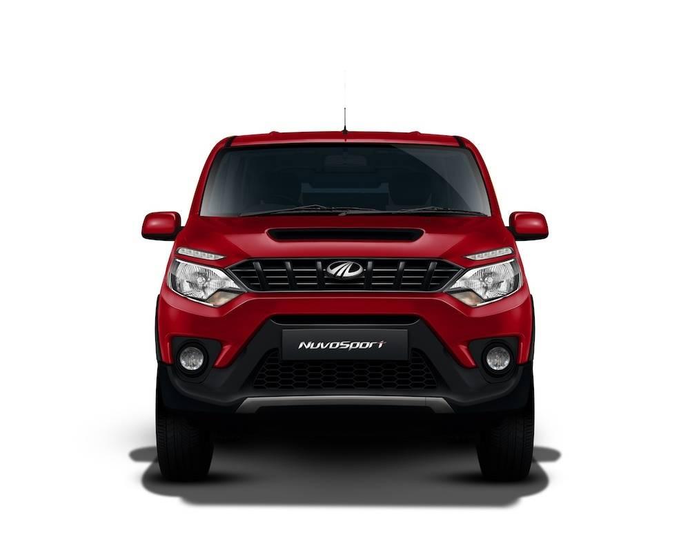 Mahindra Nuvosport Front Stright