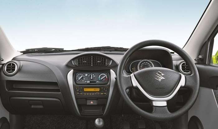 Maruti suzuki alto 800 price in india images mileage for Swift lxi o interior