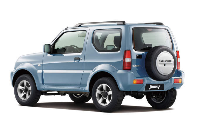 2018 suzuki sierra. interesting sierra maruti suzuki jimny rear profile in 2018 suzuki sierra