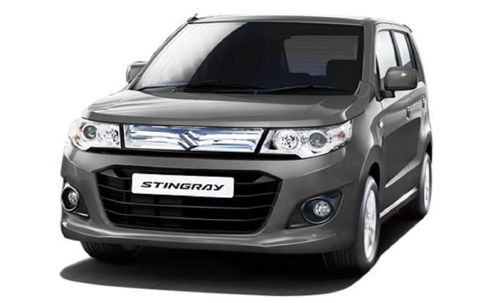 Maruti Suzuki Stingray Front Profile View