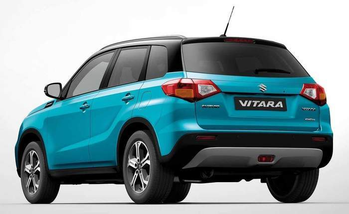 suzuki grand vitara 2018. brilliant grand suzuki vitara rear in suzuki grand vitara 2018