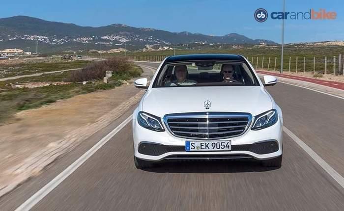 New Mercedes Benz E Class Front