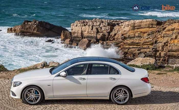 New Mercedes Benz E Class Side Profile