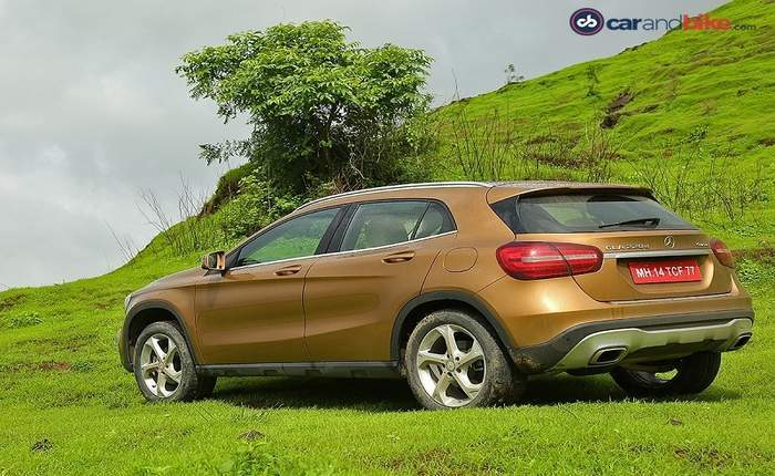 Mercedes Benz Gla Back