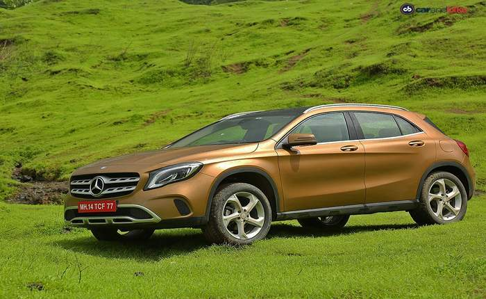 Mercedes benz gla price in india images mileage for Mercedes benz gla class price