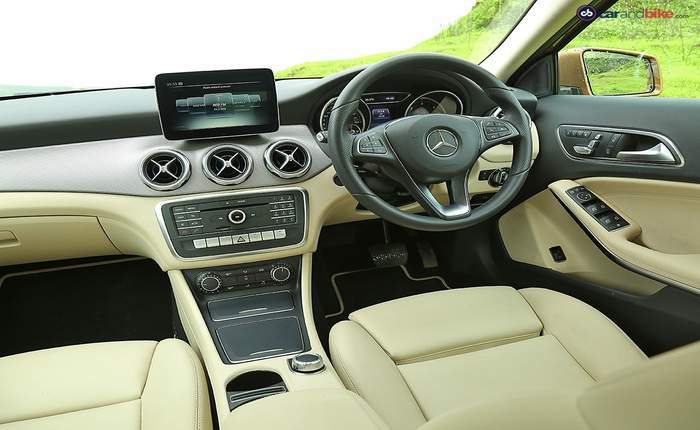 Mercedes benz gla price in india images mileage for Mercedes benz gla class interior