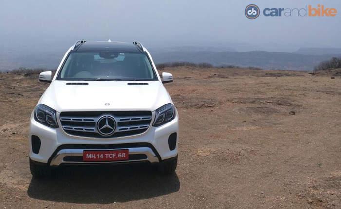 Mercedes Benz Gls Front