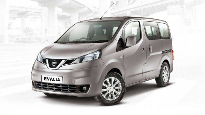 nissan evalia front 3 4th view