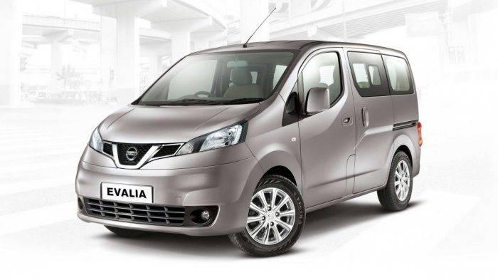 Nissan Evalia Front 3 4th View